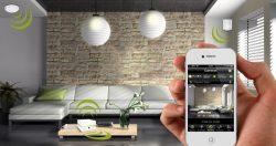 Gestion systeme domotique a partir d'un smartphone