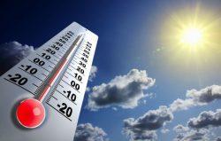 Montee de la temperature