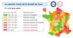 Nécessite de traitement de l'eau selon les regions
