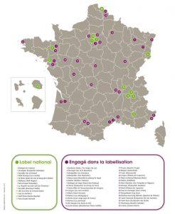 Palmares des 13 quartiers labellises EcoQuartier en France en 2013