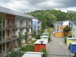 habitat groupe Vauban, Fribourg, Allemagne