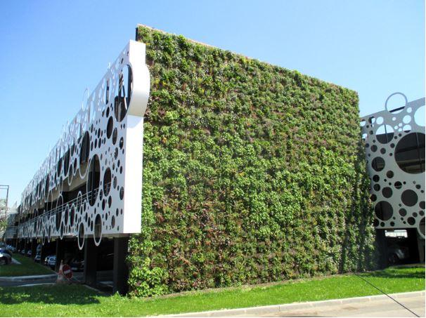 V g talisation build green - Immeuble vegetal ...