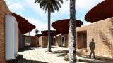 Cour intérieur & façades en briques - Concave Roof - BMDesign Studios - Province de Kerman, Iran