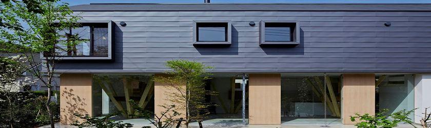 quand on s 39 inspire de l 39 arbre pour concevoir une maison japonaise build green. Black Bedroom Furniture Sets. Home Design Ideas