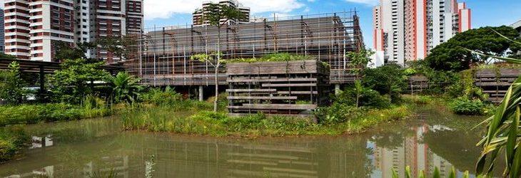 Une-Village activation au cœur de Singapour
