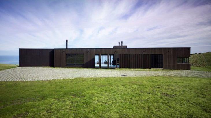 Une-Vue sur l'ocean pour cette splendide maison bois néo-zélandaise