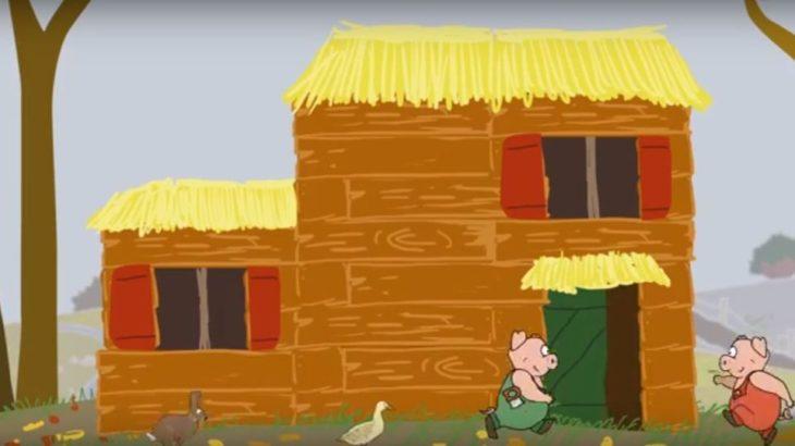 Une-[vidéo] La maison paille des 3 petits cochons revue et corrigée
