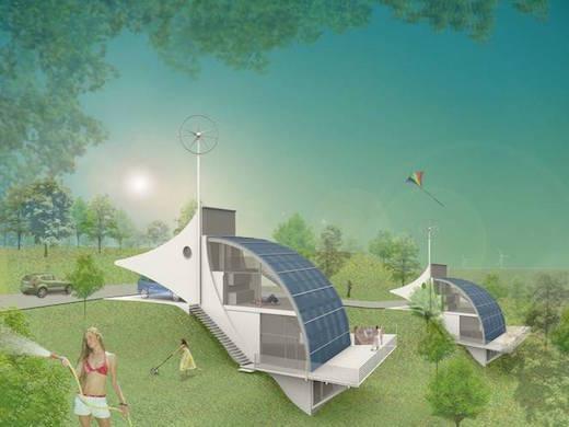 communaute durable basee sur la technologie H2PIA à l'hydrogene