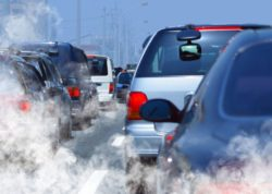 pollution de l'air par les vehicules