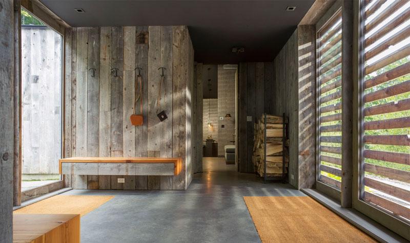 Mélange de modernité et tradition pour cette maison bois américaine ...