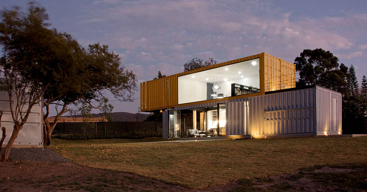 Maison container une solution cologique build green - Construire sa maison avec des containers ...