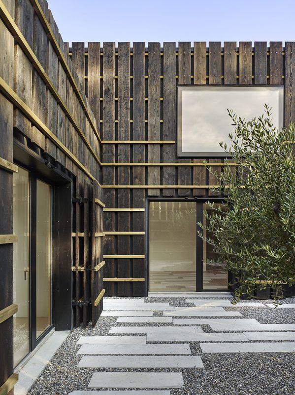 entrée - Maison de Corsier par bunq architectes - Suisse