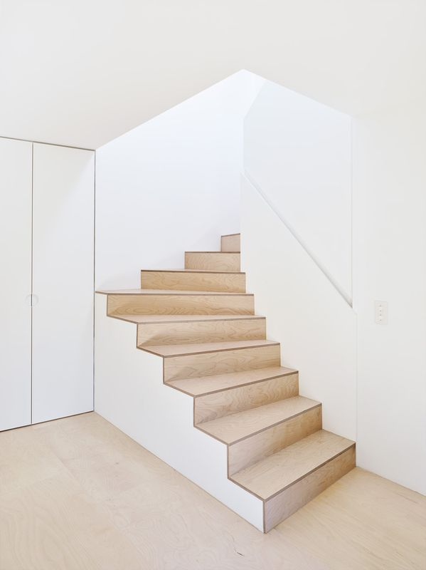 escalier - Maison de Corsier par bunq architectes - Suisse