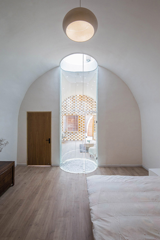 Puits de lumière - Cavehouse par Hypersity - Chine