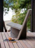 chaise en bois - Bunker house par Olson Kundig - Usa