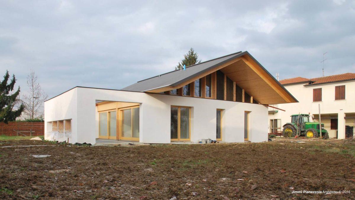 finitions - SCL Maison isolée paille par Jimmi Pianezzola Architetto - Italie