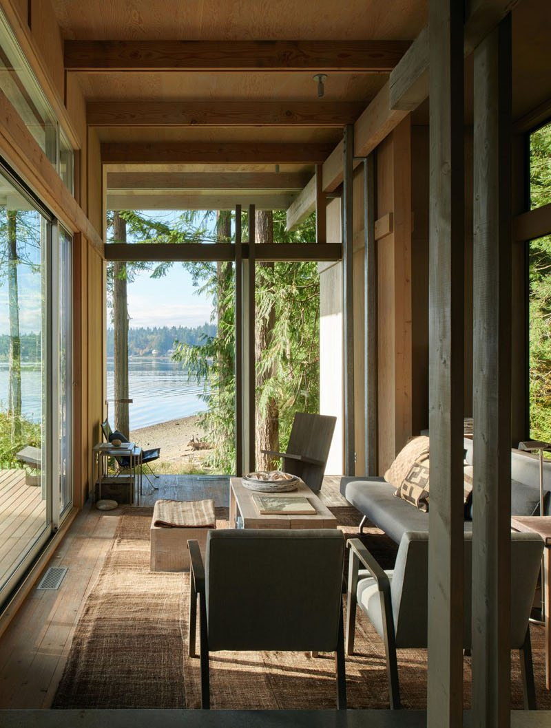 salon 3 - Bunker house par Olson Kundig - Usa