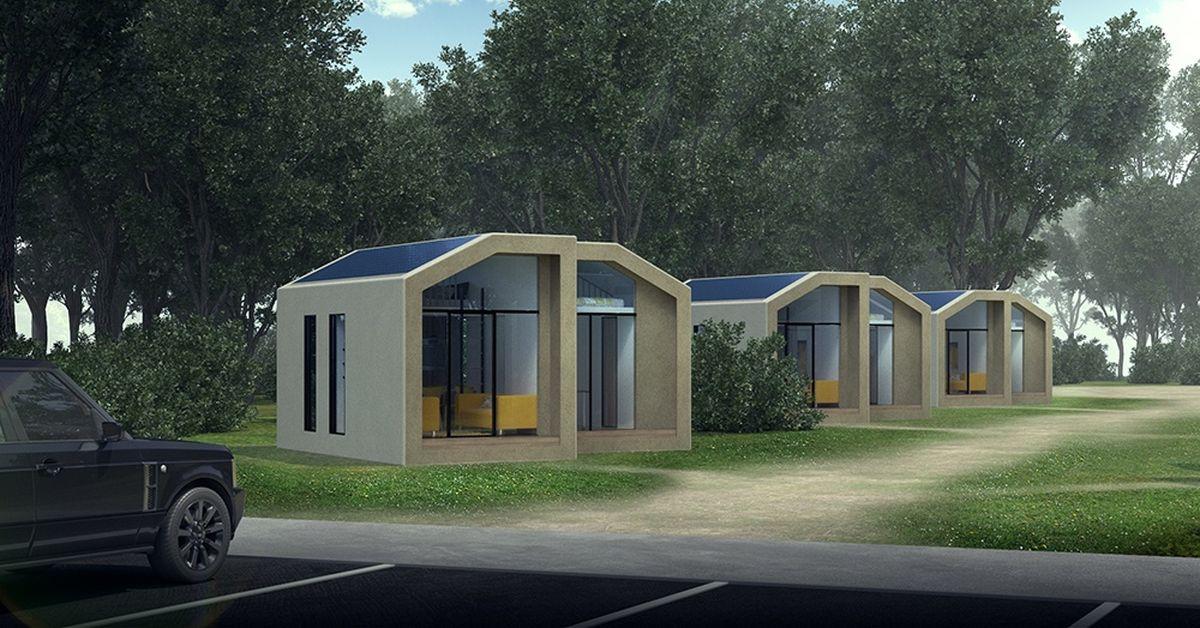 Staykondo des micro maisons modulaires en chanvre for Maison modulaire design