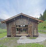 vue extérieure - Maison Moser par architectes Madritsch et Pfurtscheller - Autriche
