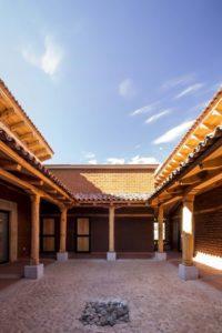 Cour intérieur - Kumanchikua-House par Moro-Taller-Arquitectura - Tarecuato - Mexique