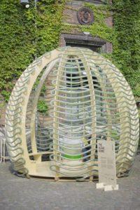 Exposition dôme d'algues - Algue-dome par SPACE - Copenhague, Danemark