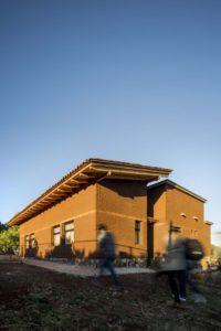 Façade mur en terre crue - Kumanchikua-House par Moro-Taller-Arquitectura - Tarecuato - Mexique