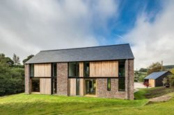 Façade principale - The-Nook par Hall+Bednarczyk - Monmouthshire - Nouvelle-Zelande