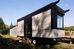 Façade principale - Weel-Pad par LineSync Architecture - Vermont, USA
