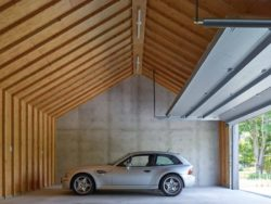 Garage - House-lane par Maziar-Behrooz-Architecture - Nouveau-Mexique - USA