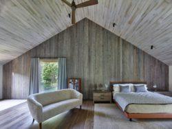 Grande chambre avec canapé - House-lane par Maziar-Behrooz-Architecture - Nouveau-Mexique - USA