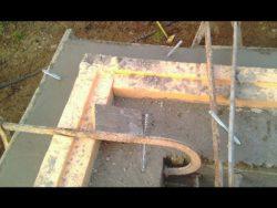 Isolation verticale - auto-construction maison paille Greb - Auvergne - France