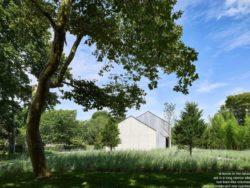 Jardin & arbres entourant le site - House-lane par Maziar-Behrooz-Architecture - Nouveau-Mexique - USA