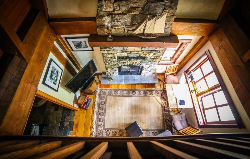 Mezzanine - Winckler cottage par Lindcroft Custom Dwellings - Vancouver - Canada
