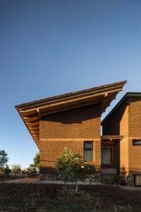 Mur en terre crue - Kumanchikua-House par Moro-Taller-Arquitectura - Tarecuato - Mexique