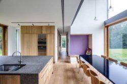 Séjour & cuisine - The-Nook par Hall+Bednarczyk - Monmouthshire - Nouvelle-Zelande