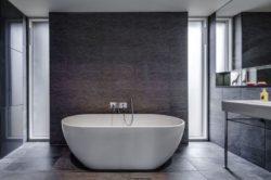 Salle de bains - The-Nook par Hall+Bednarczyk - Monmouthshire - Nouvelle-Zelande