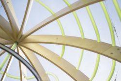 Structure bois - Algue-dome par SPACE - Copenhague, Danemark