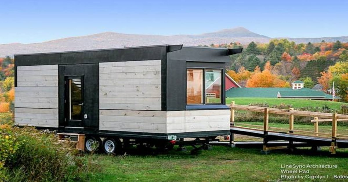 un tiny house sp cialement adapt aux handicap s build green. Black Bedroom Furniture Sets. Home Design Ideas