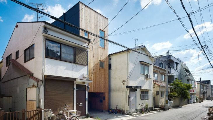 Une- tiny-house par Fujiwaramuro-Architects - Kobe - Japon