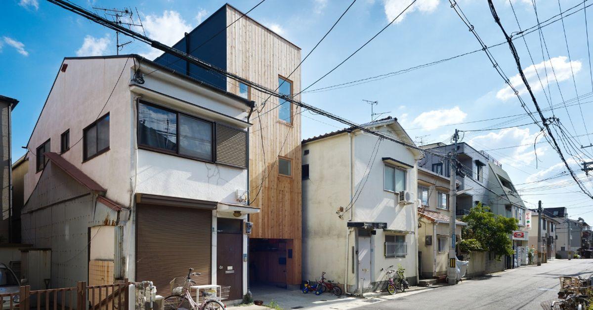 Une- tiny-house par Fujiwaramuro-Architects - Kobe - Japon
