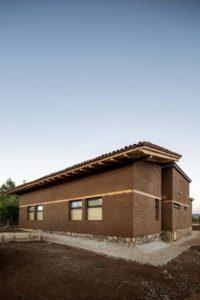 Vue d'ensemble - Kumanchikua-House par Moro-Taller-Arquitectura - Tarecuato - Mexique