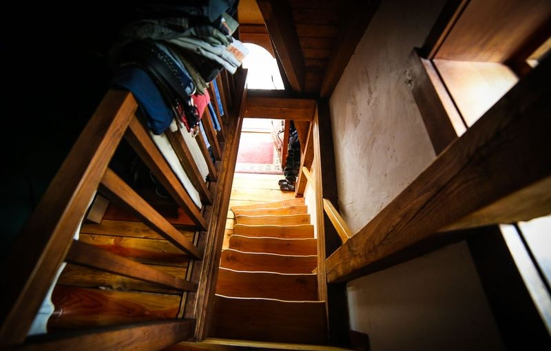 escalier - Winckler cottage par Lindcroft Custom Dwellings - Vancouver - Canada