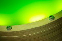 microalgues illuminées - Algue-dome par SPACE - Copenhague, Danemark