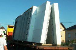 mur Macc3 sur camion