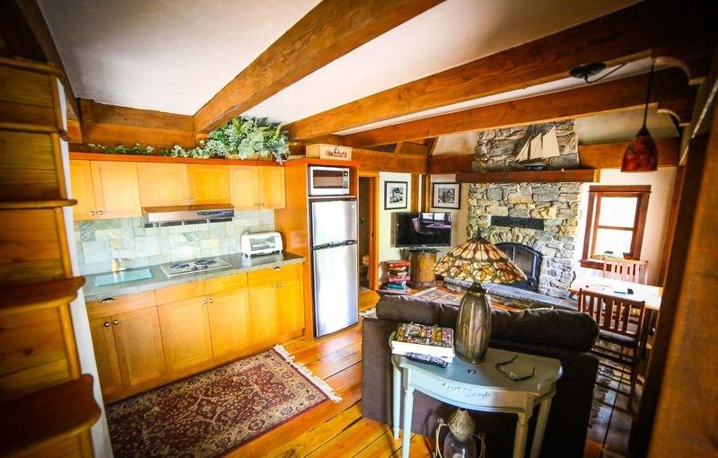 pièce de vie - Winckler cottage par Lindcroft Custom Dwellings - Vancouver - Canada