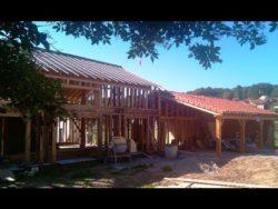 prêt pour la paille - auto-construction maison paille Greb - Auvergne - France