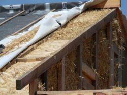 rasements 2 - auto-construction maison paille Greb - Auvergne - France