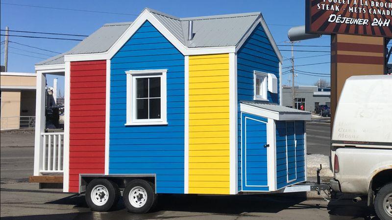 vue extérieure - Tiny house la Puce par Vivre en Mini - Québec, Canada
