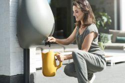 Bac récupérateur d'eau de pluie - Drop-of-Water par Van der Veer - Eindhoven, Pays-Bas
