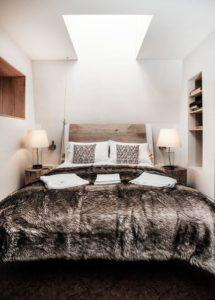 Chambre - Woodman-Treehouse par Mallinson-BEaM-studio - Angleterre